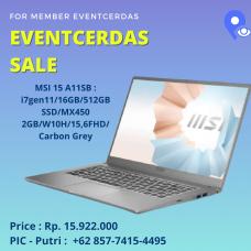MSI 15 A11SB
