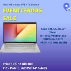 Asus K413EA-AM553 Silver