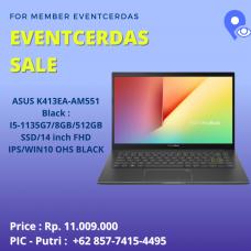 Asus K413EA-AM551 Black